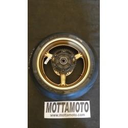 Rear wheel gold honda cbr...