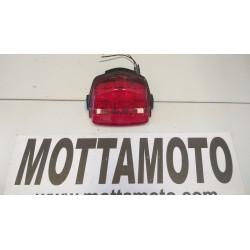 Red rear spotlight honda...